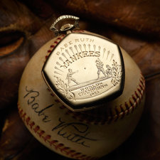 1923 New York Yankees World Championship Watch Presented to Babe Ruth