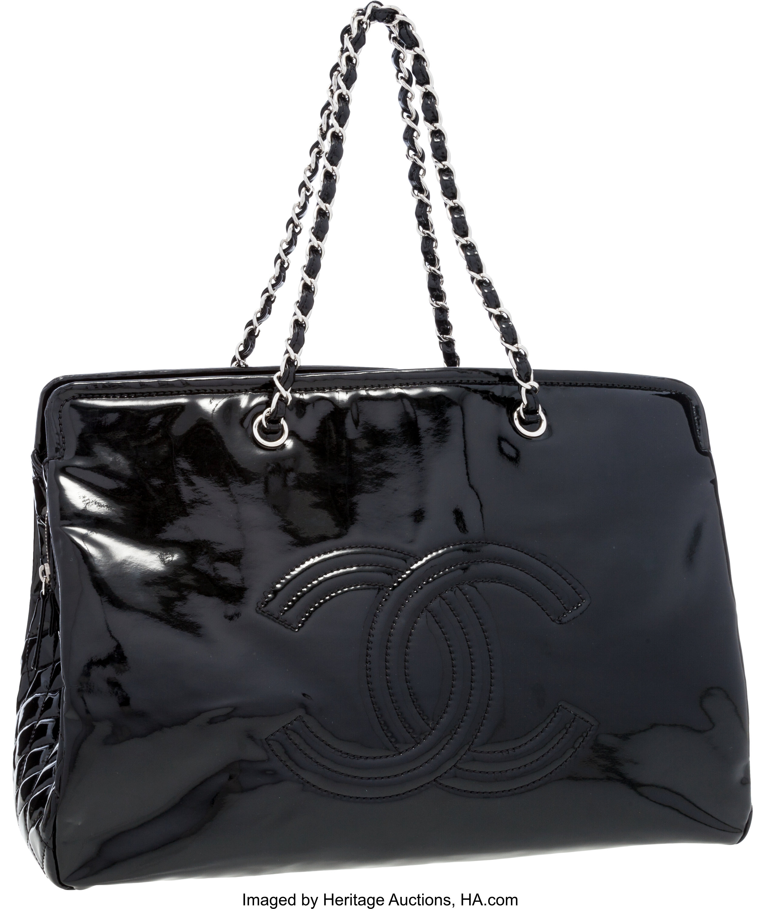 Prada Chain Flap Shoulder Bag Diagramme Quilted Leather