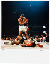 Muhammad Ali Sonny Liston Phantom Punch