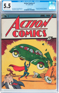 Action Comics unrestored