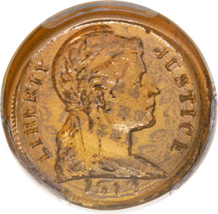 Glass Cent glass penny