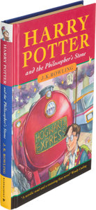 "Harry Potter and the Philosopher's Stone auction""border="