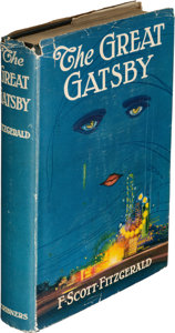 First edition The Great Gatsby Fitzgerald