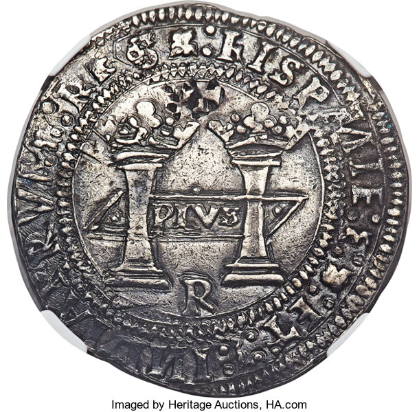 First Dollar of the Americas 1538 Spain Mexico