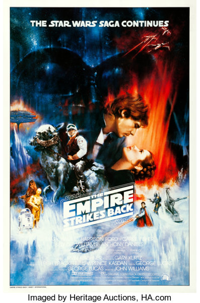 Most Valuable Star Wars Movie Poster