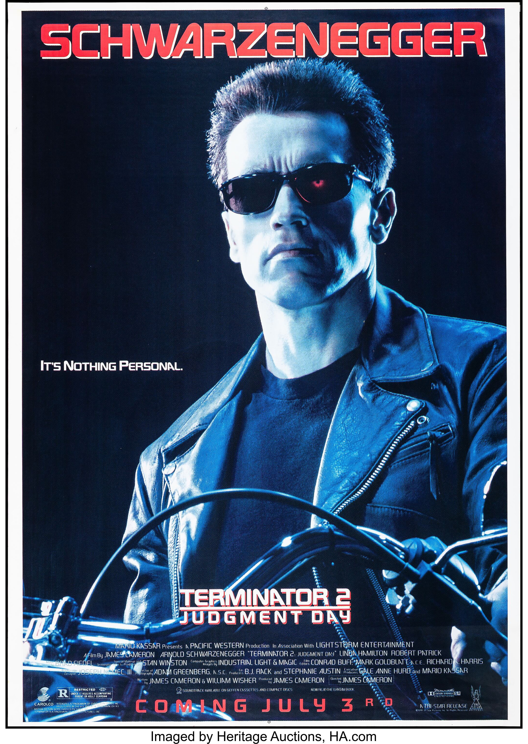 Terminator 2: Judgment Day (Tri-Star, 1991). Bus Shelter ...