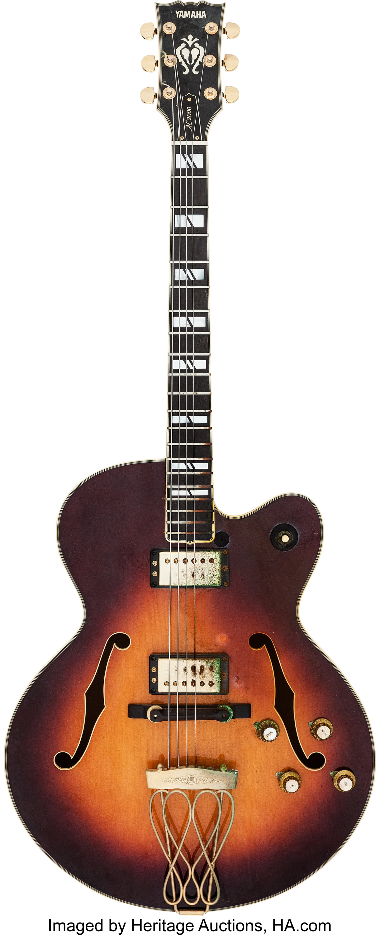 where is yamaha guitar serial number