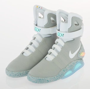 Nike Back to the Future Sneakers 2016 Heritage Auctions
