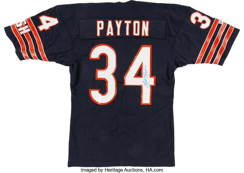 Walter Payton Signed Chicago Bears Jersey.... Football ...