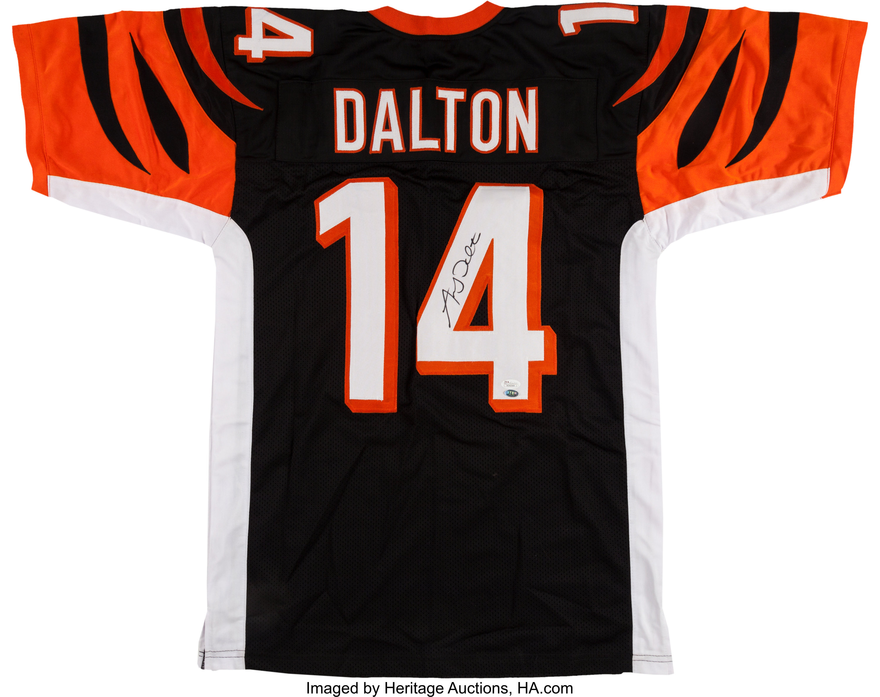 Andy Dalton Signed Bengals Jersey.... Football Collectibles | Lot ...