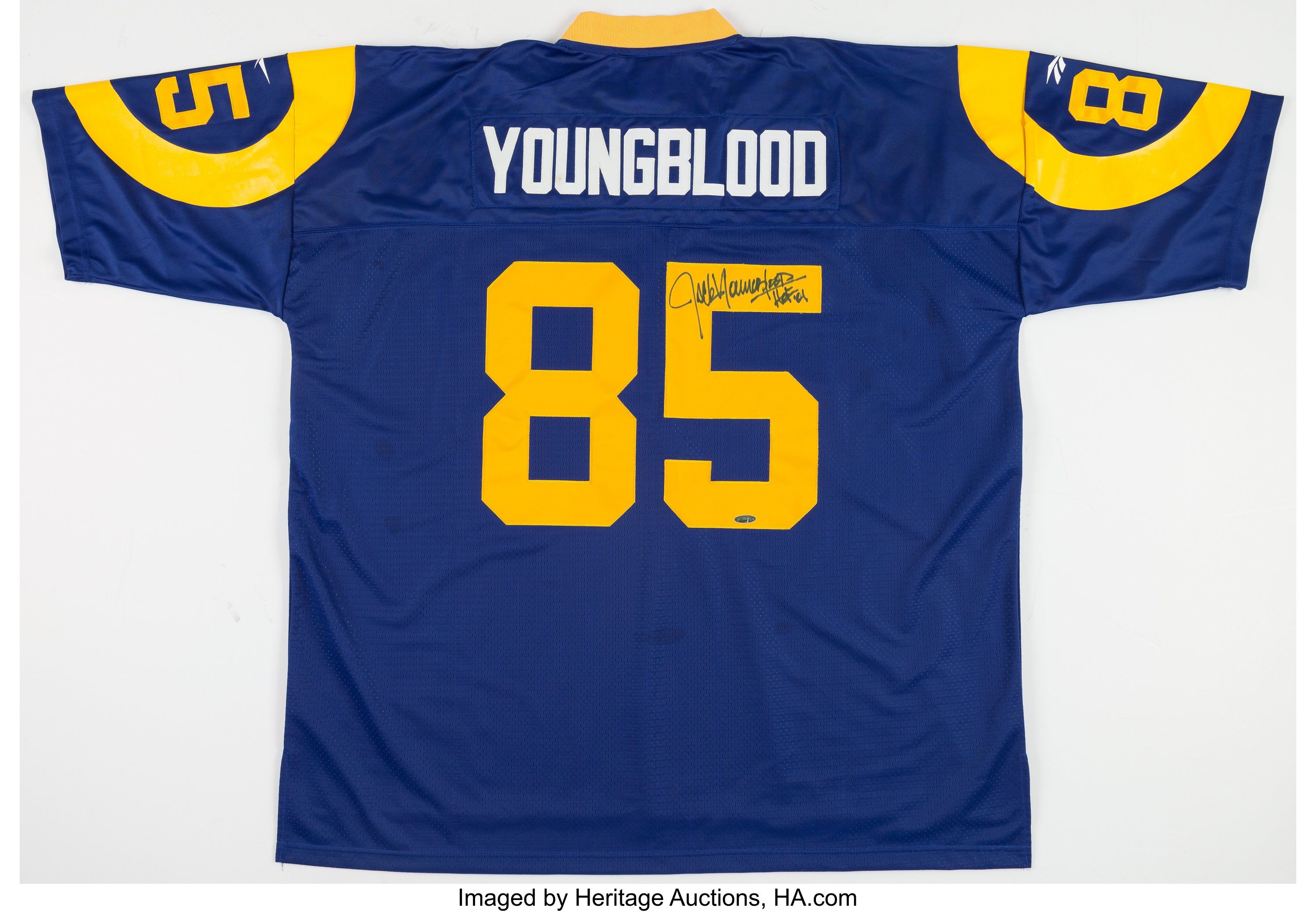 Jack Youngblood Signed Los Angeles Rams Jersey.... Football | Lot ...