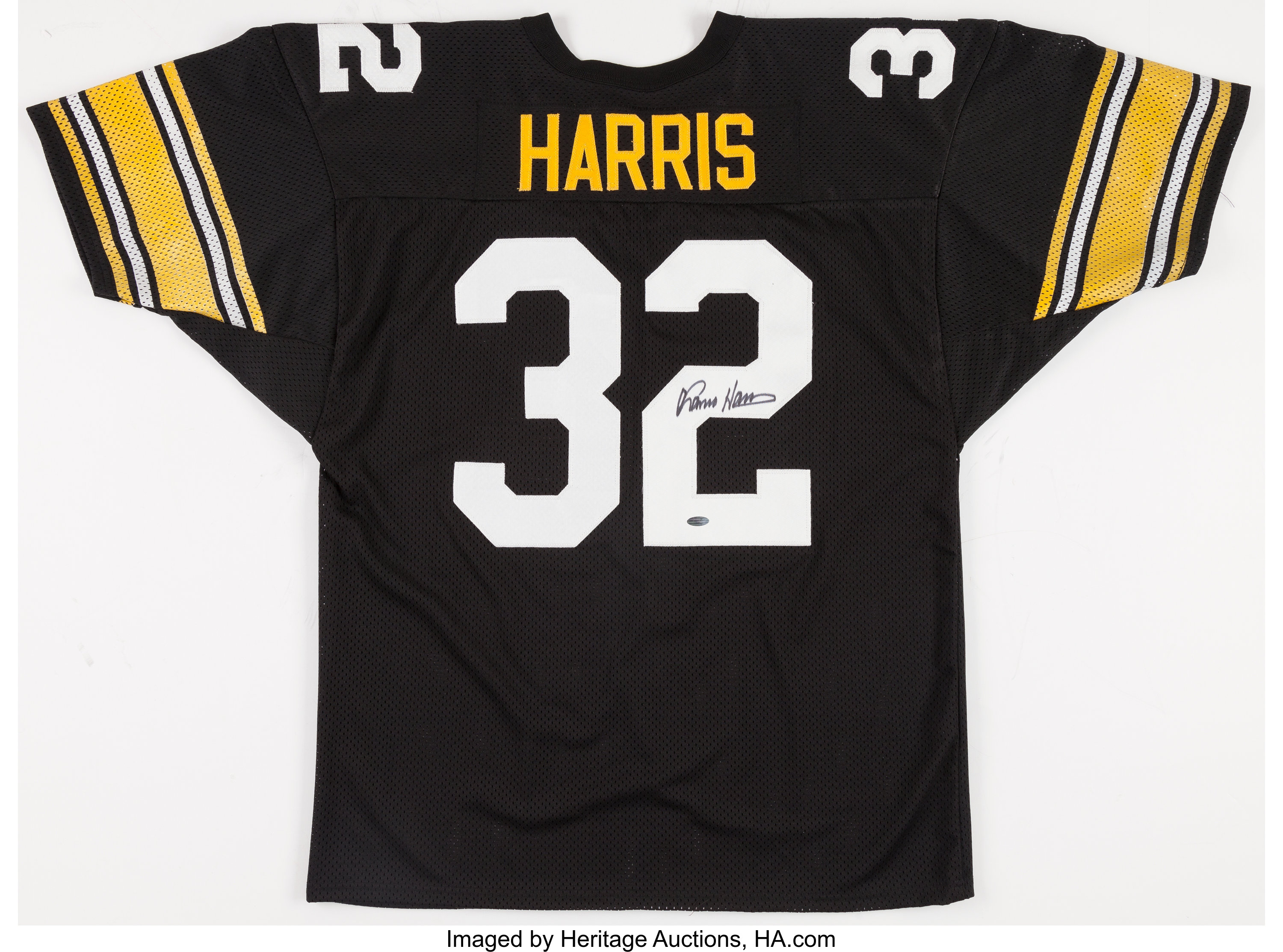 Franco Harris Signed Pittsburgh Steelers Jersey.... Football | Lot ...