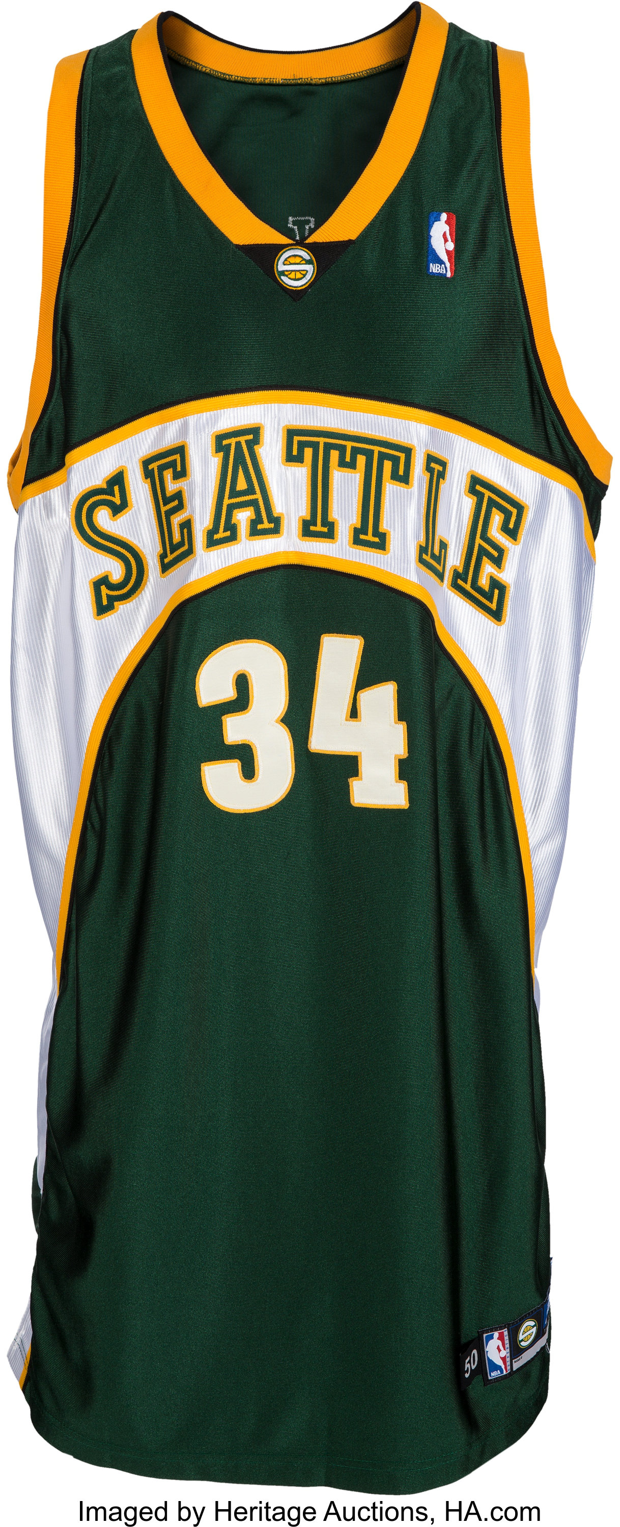 2004-05 Ray Allen Game Worn Seattle Supersonics Jersey.... | Lot ...