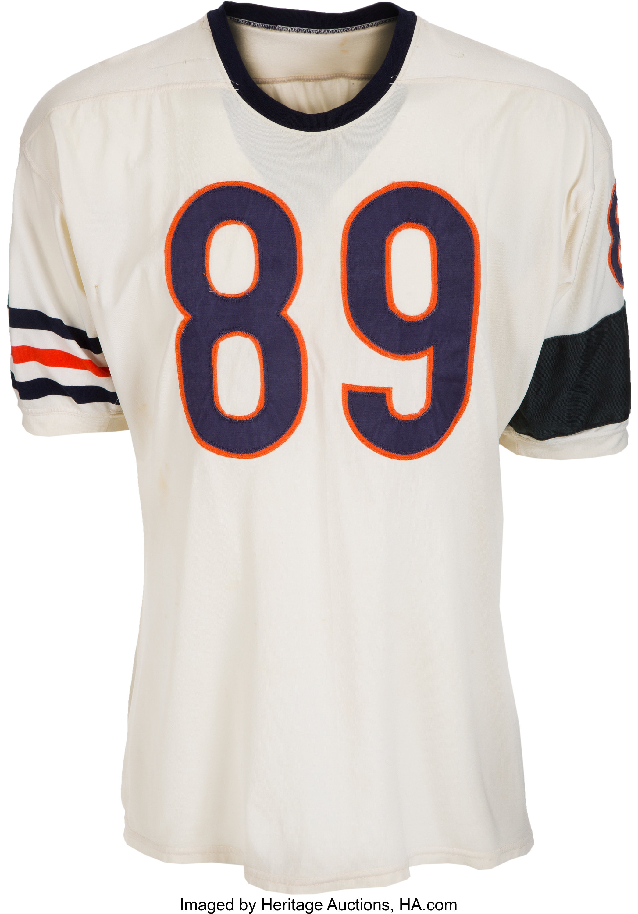 1964 Mike Ditka Game Worn Chicago Bears Jersey with Rare Memorial ...