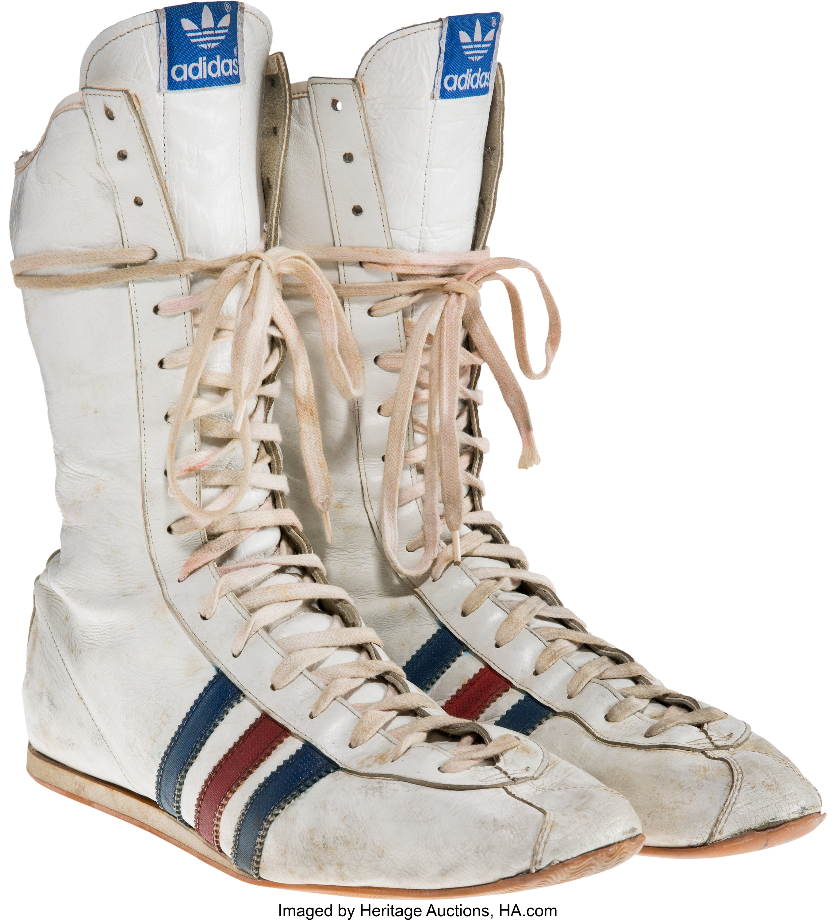 A Pair of Boxing Shoes from