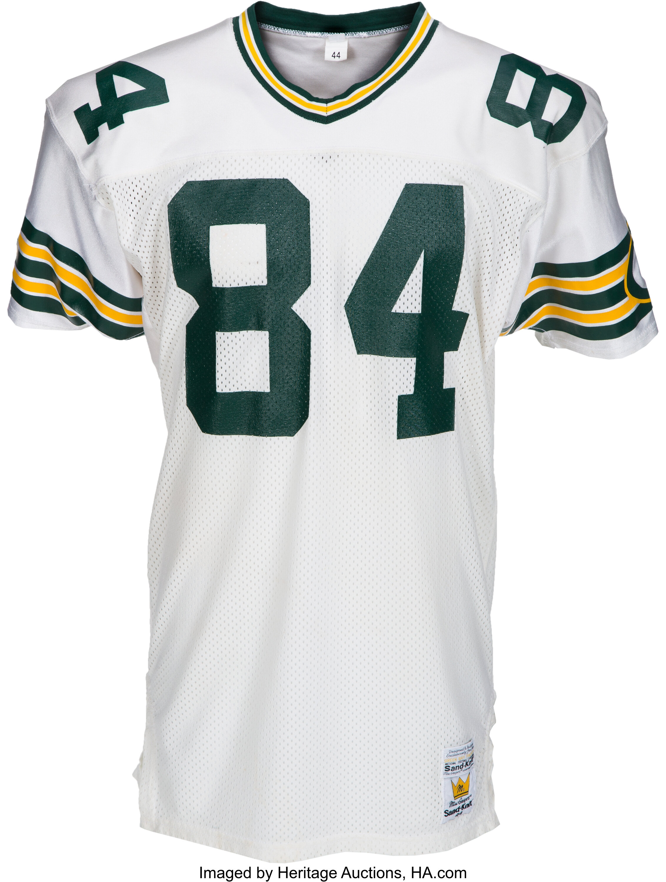 1988 Sterling Sharpe Game Worn, Signed Green Bay Packers Rookie ...
