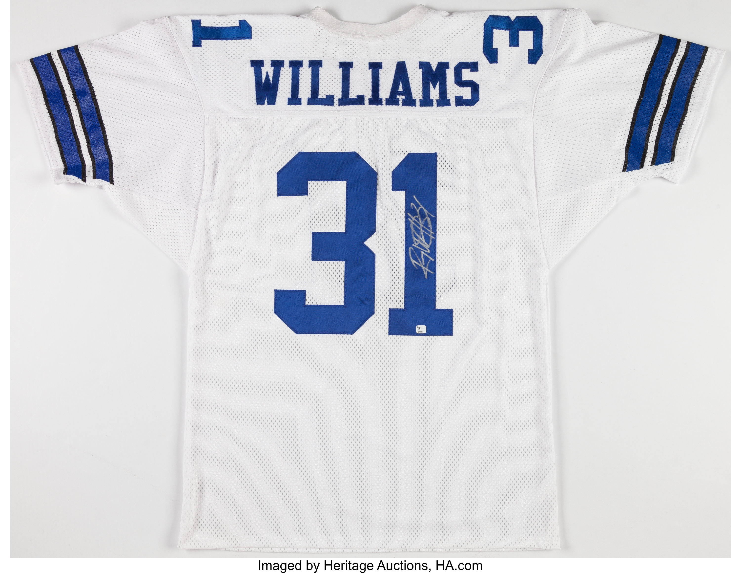 Roy Williams Signed Dallas Cowboys Jersey (Defensive Player ...