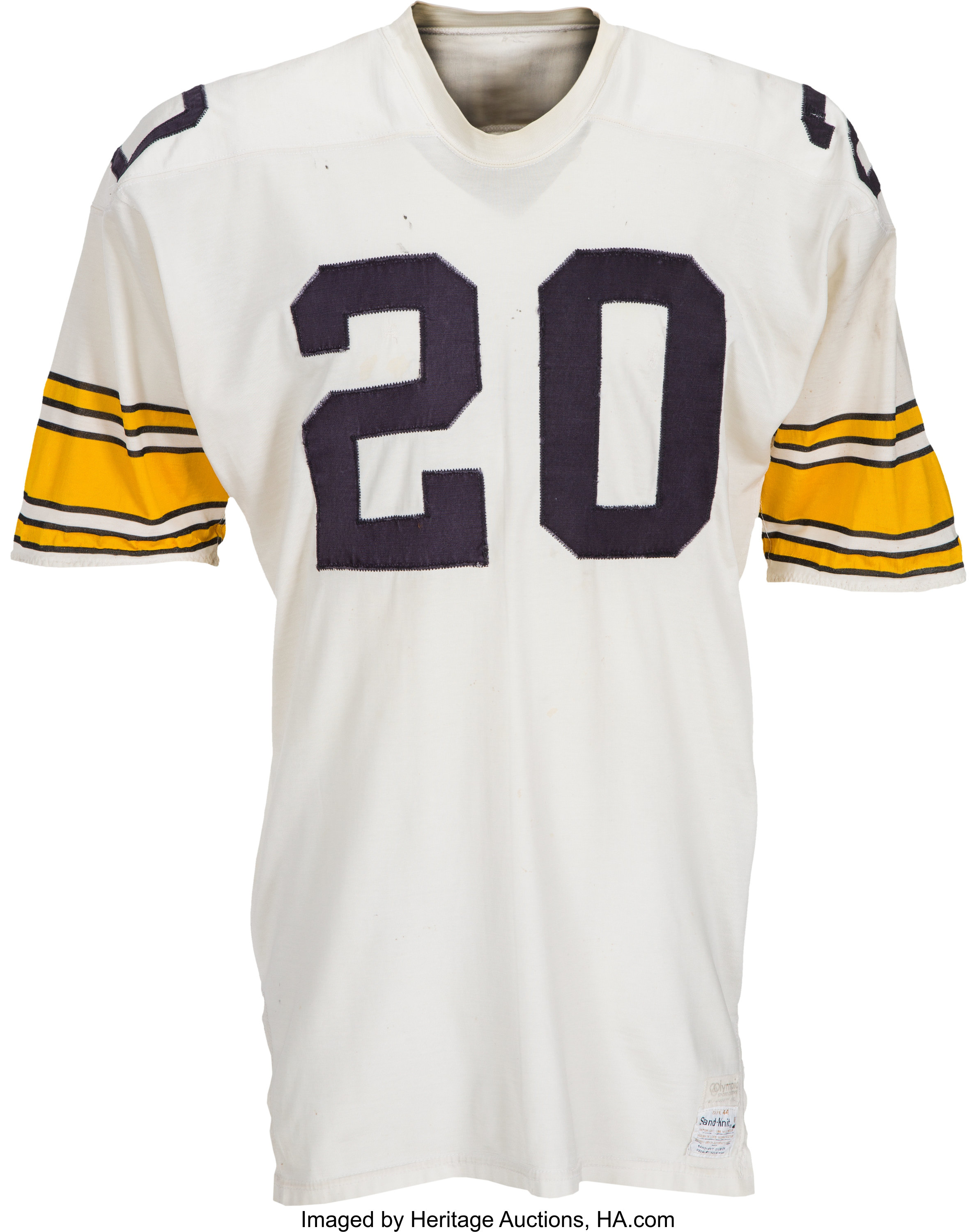 Early 1970's Rocky Bleier Game Worn Pittsburgh Steelers Jersey ...