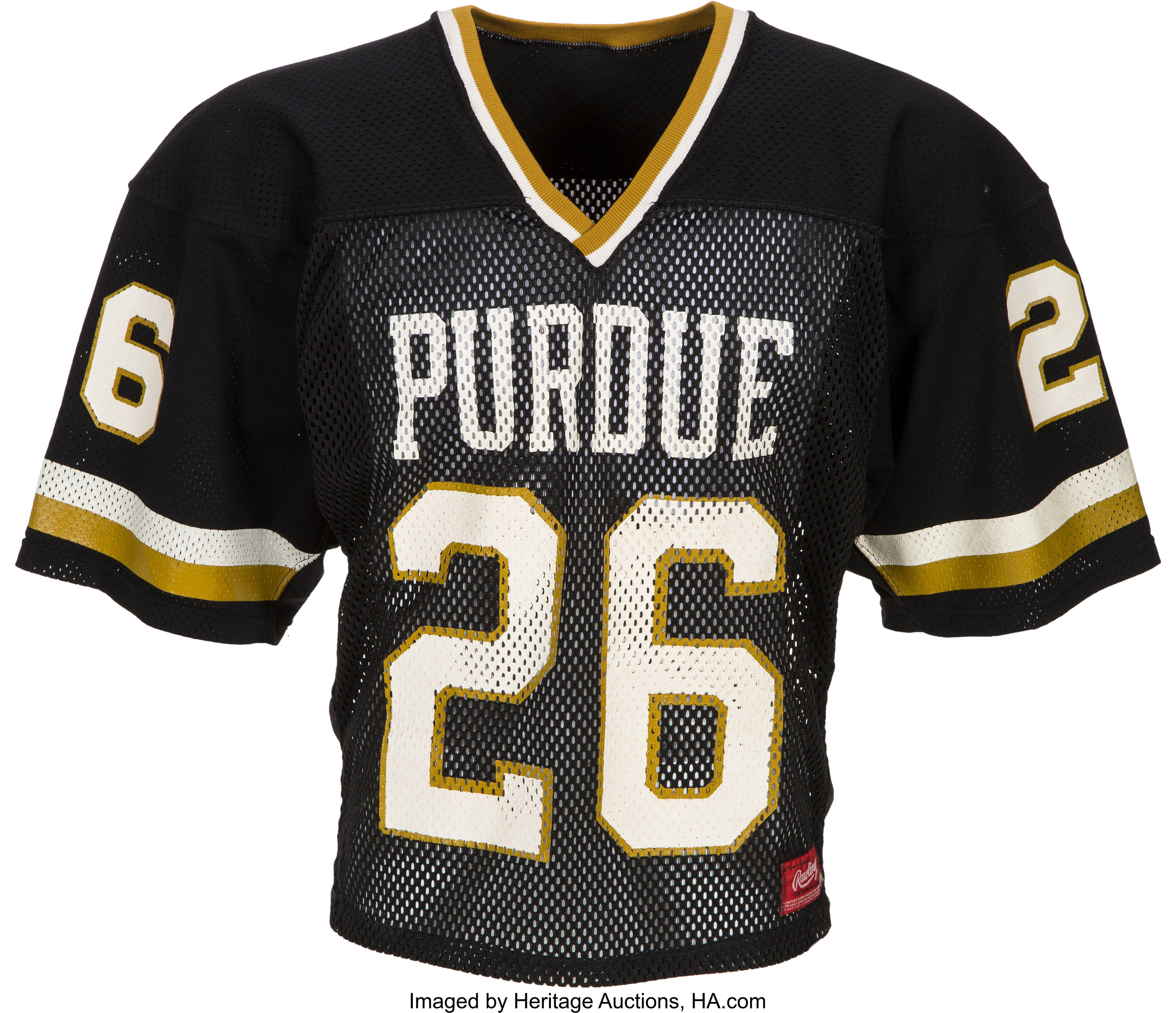 1983-86 Rod Woodson Game Worn Purdue Boilermakers Jersey....   Lot ...