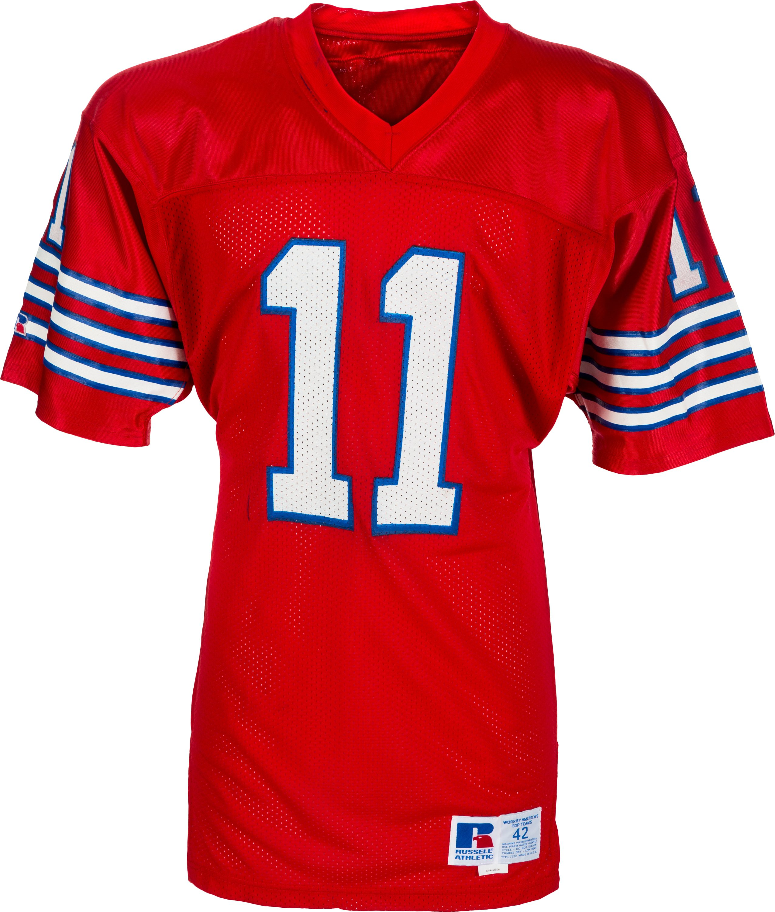 Late 1980's Andre Ware Game Issued Houston Cougars Jersey ...