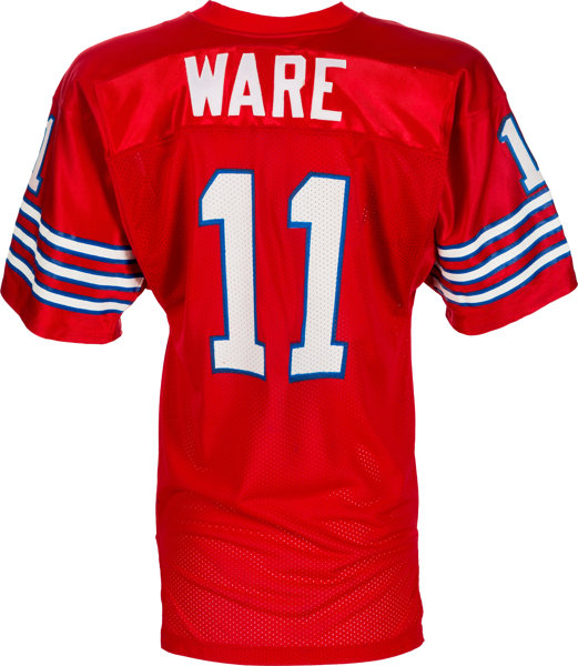 Andre Ware Houston Cougars Football Jersey - White