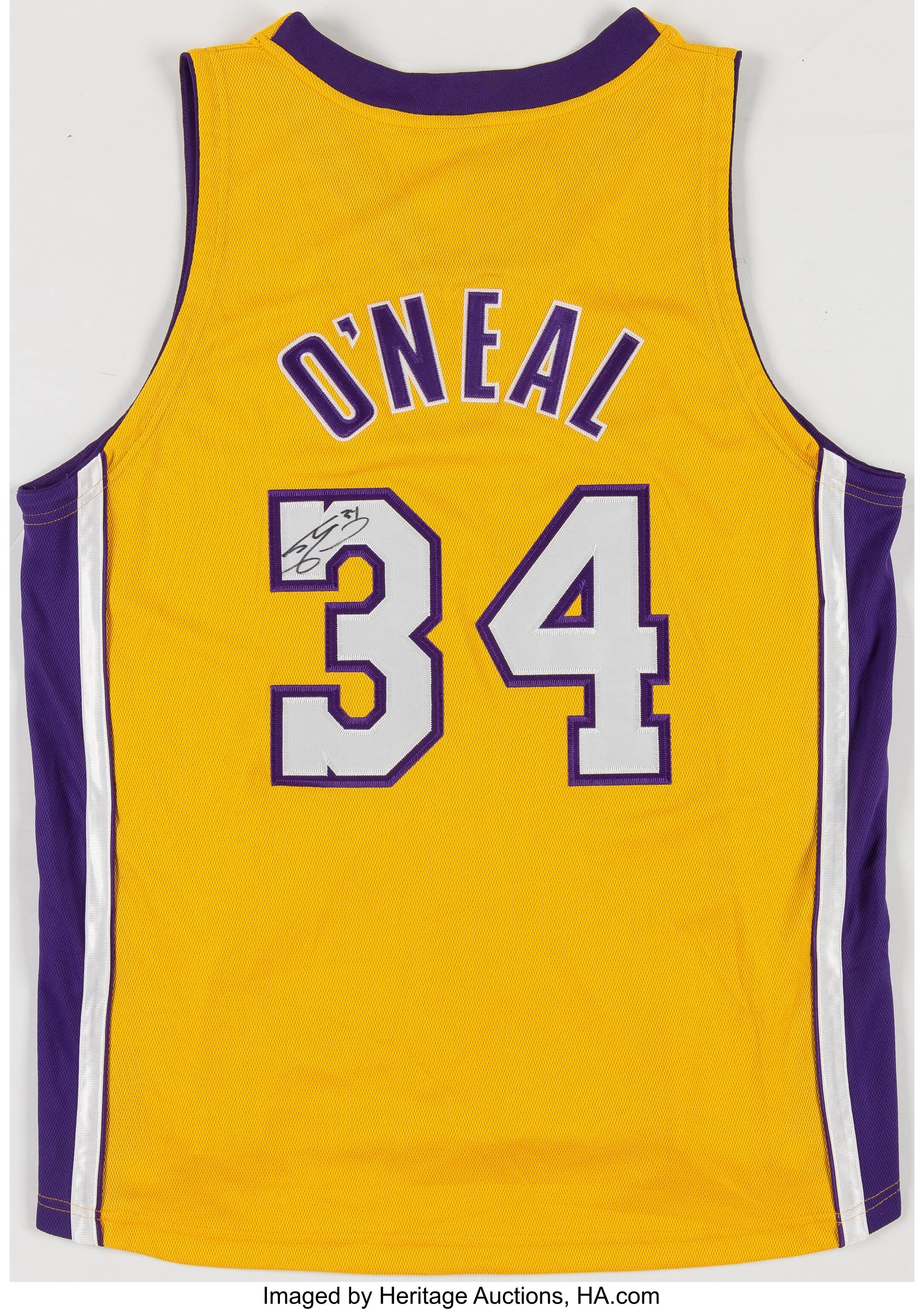 Shaquille O'Neal Signed Los Angeles Lakers Jersey.... Basketball ...