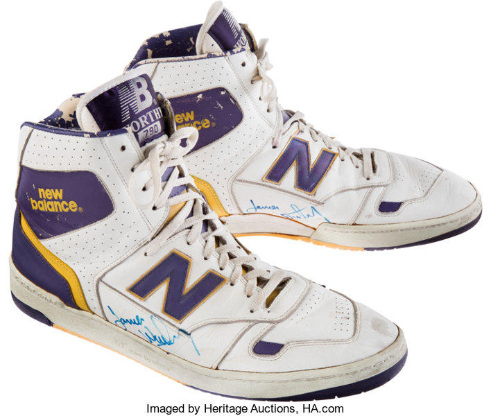 james worthy new balance basketball shoes
