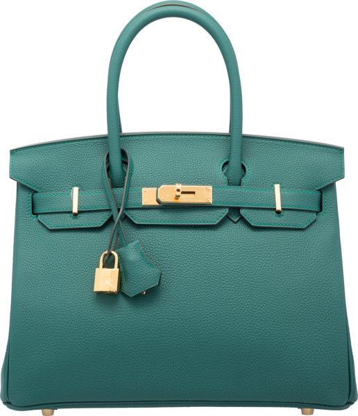 Geniue Stockist Cheap Sale Huge Surprise Hermès 30cm Malachite Togo Leather Birkin Heritage Auctions Special Collection Clearance Low Price tDHhSaQEF