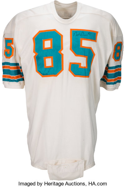 1969 Nick Buoniconti Game Worn & Signed Miami Dolphins Jersey. | Lot