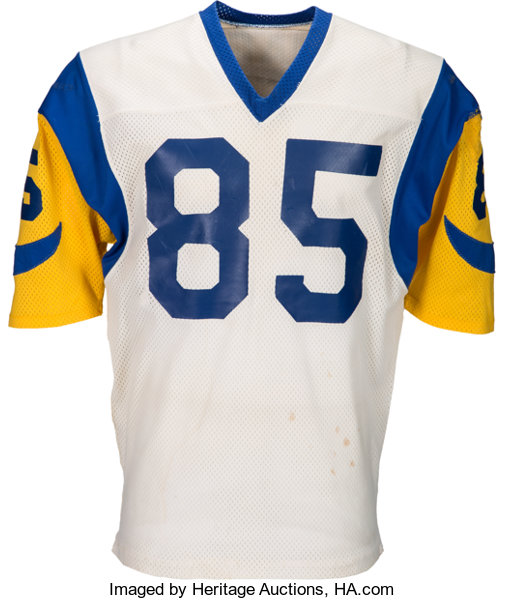 Mid to Late 1970's Jack Youngblood Game Worn Los Angeles Rams ...
