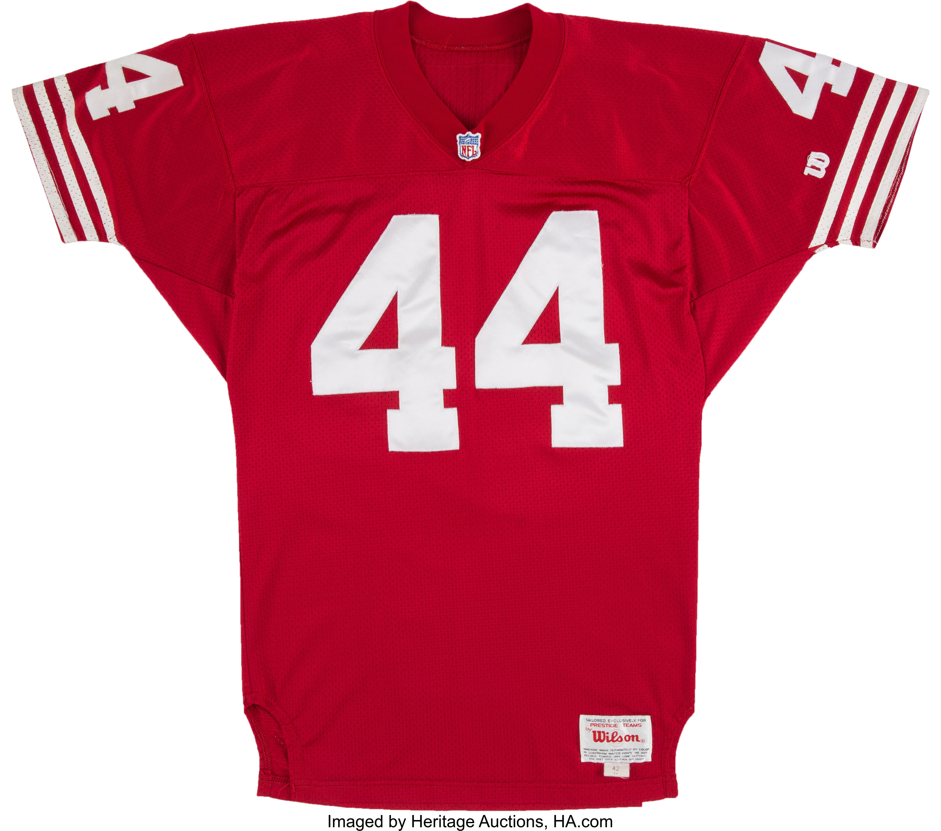 1993 Tom Rathman Game Issued San Francisco 49ers Jersey.... | Lot ...