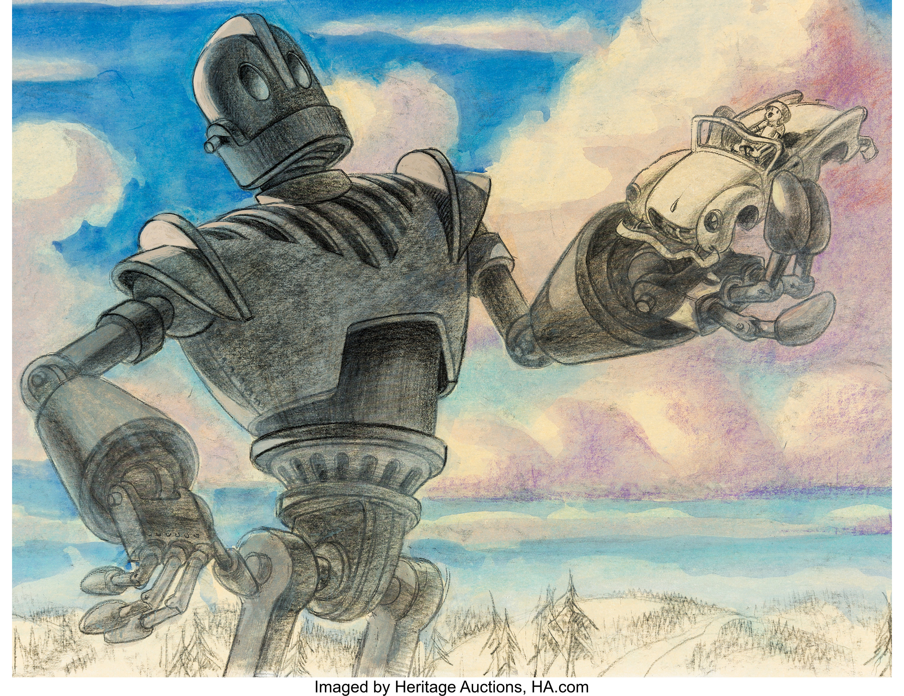 The Iron Giant Concept Art (Warner Brothers, 1999