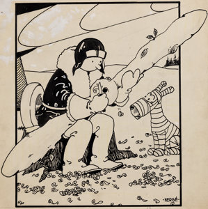 Rare Tintin art sells for $1.12 million at Heritage Auctions