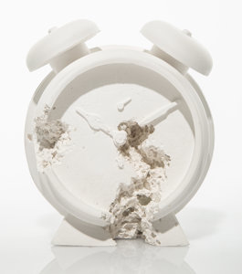 Urban Art Daniel Arsham Clock Heritage Auctions