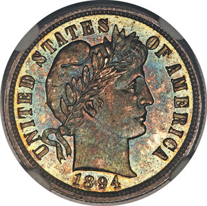 Barber Dime brings $1.5 million at Heritage Auctions
