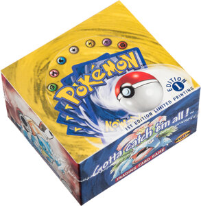 Pokémon First Edition Base Set Sealed Booster Box world record price