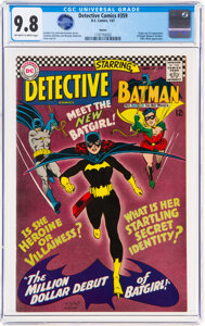 world record Batgirl debut Heritage Auctions