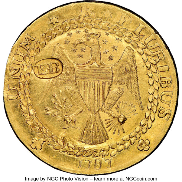 1787 DBLN New York-Style Brasher Doubloon Heritage Auctions