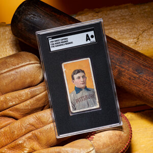 Honus Wagner Garagiola Wagner at Heritage Auctions
