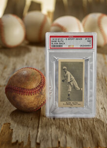 1916 M101-5 Blank Back Sporting News Babe Ruth Rookie #151
