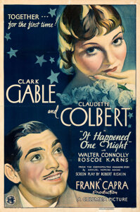 It Happened One Night 1934 movie poster