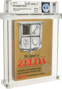 Legend of Zelda $870,000 world record most valuable video game
