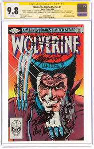 Wolverine #1 Signature Series: Frank Miller and Others (Marvel, 1982) CGC NM/MT 9.8 White pages