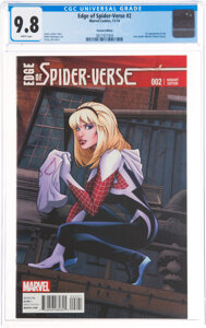 Edge of Spider-Verse #2 Variant Edition (Marvel, 2014) CGC NM/MT 9.8 White pages