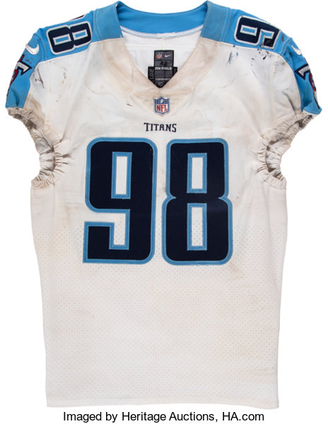 2017 Brian Orakpo Game Worn Tennessee Titans Jersey.... Football ...