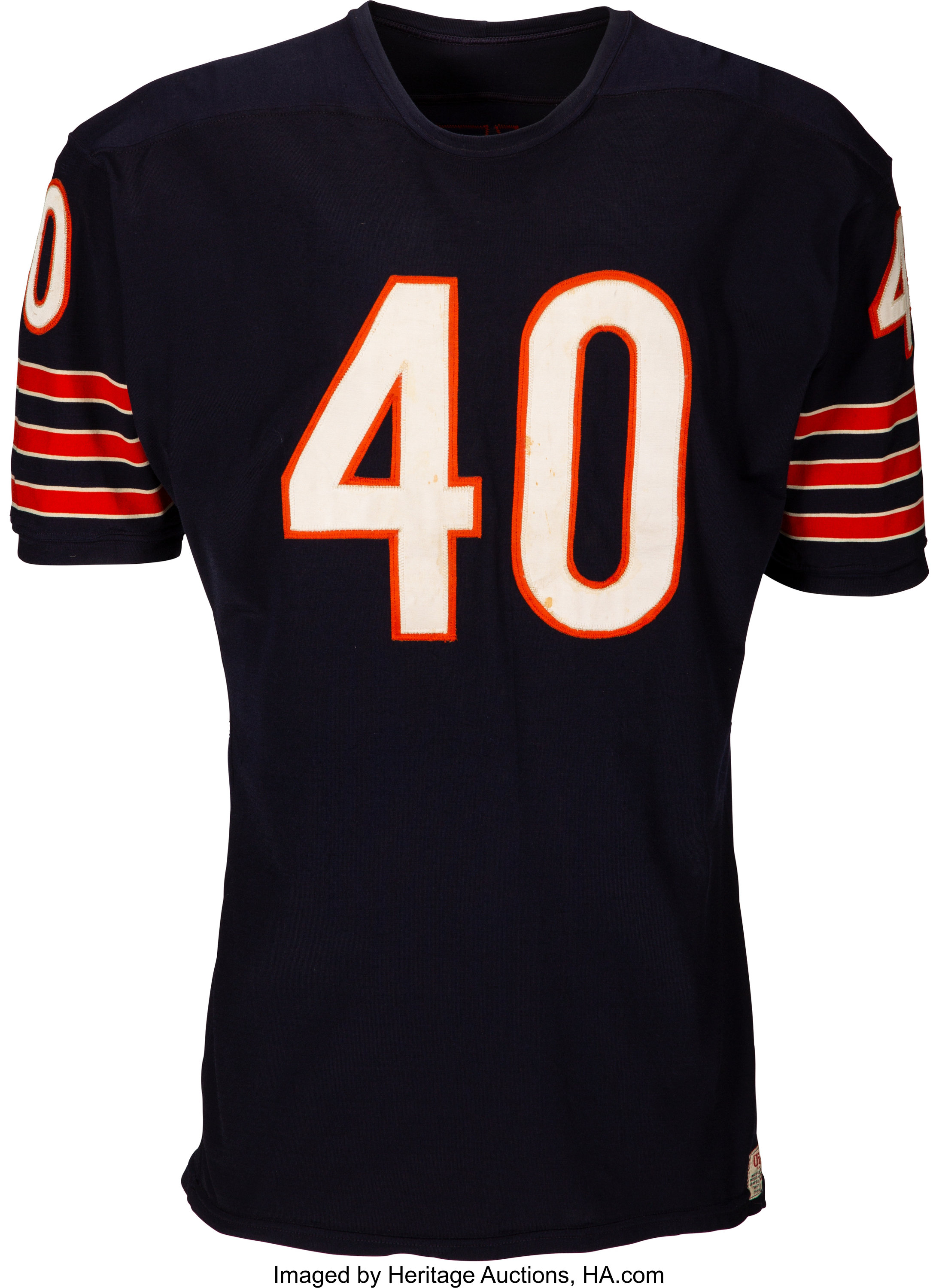 1970-71 Gale Sayers Game Worn Chicago Bears Jersey.... Football ...
