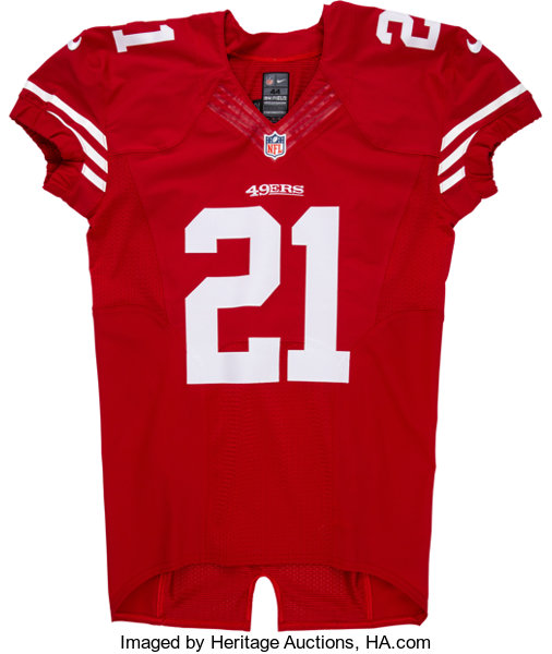 2014 Frank Gore Game Issued & Signed San Francisco 49ers Jersey ...