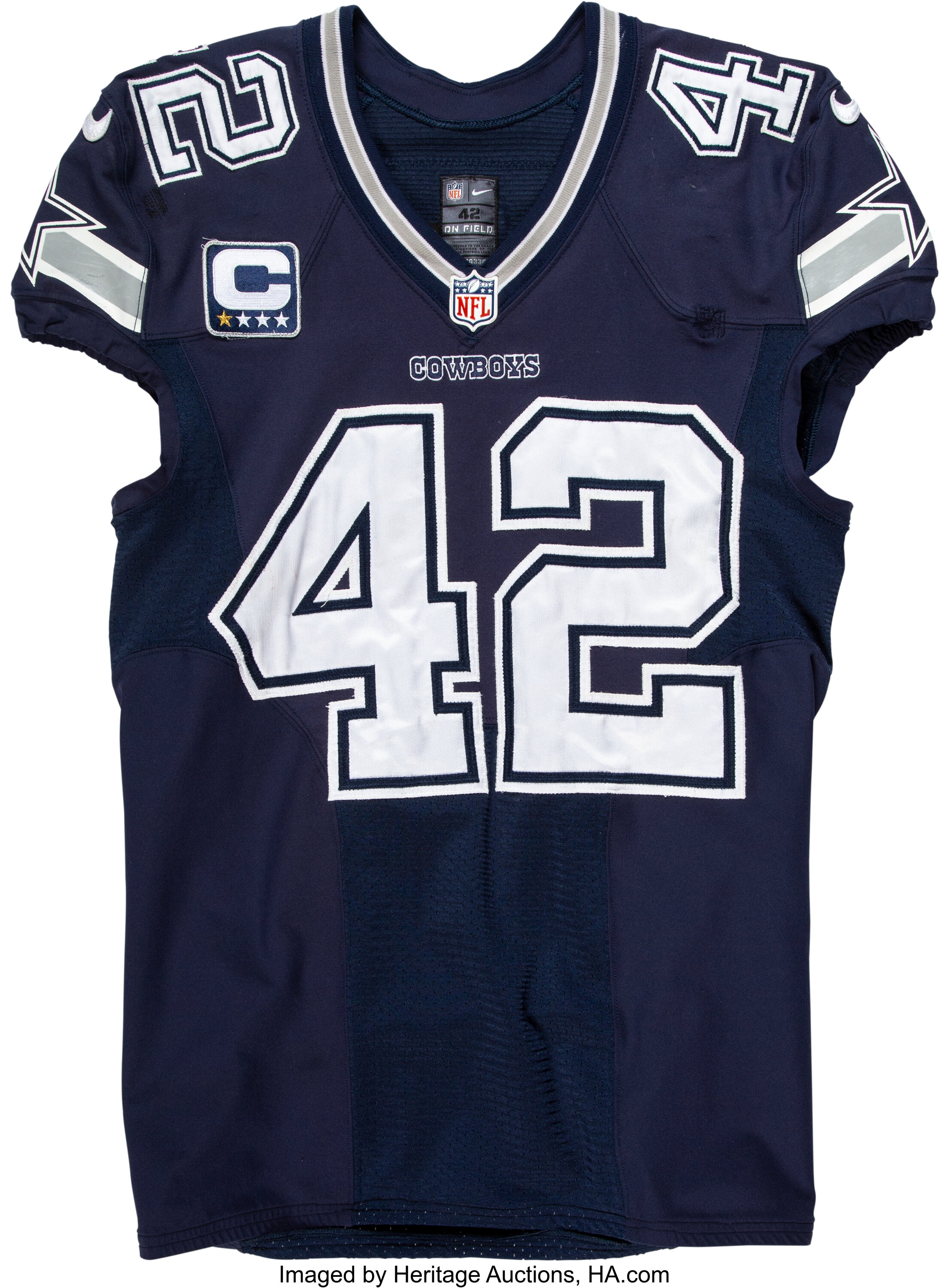 2014 Barry Church Game Worn Dallas Cowboys Jersey - Used 9/21 vs ...