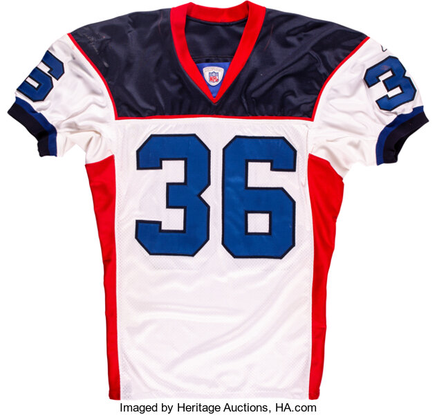 2002 Lawyer Milloy Game Worn & Signed Buffalo Bills Jersey with ...