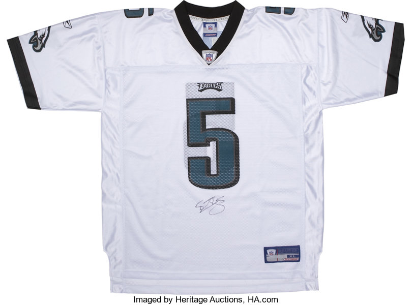 Donovan McNabb Signed Jersey. For nearly the past decade   Lot ...